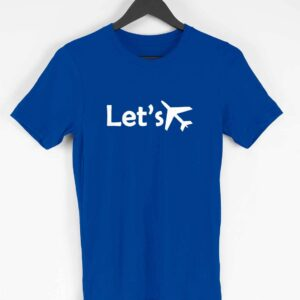 Lets's Fly Half Sleeve T-Shirt