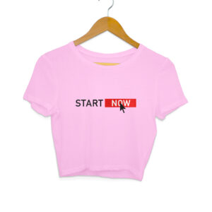Start Now Women's Crop Tops